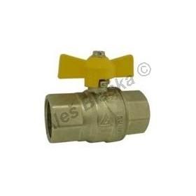Kulový kohout (ventil) na plyn s motýlem FF plnoprůtok (plynový)