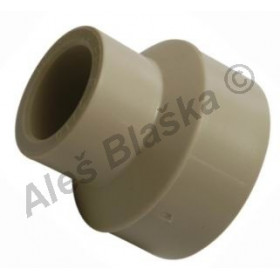 PPR redukce M/F tvarovka plastová navařovací