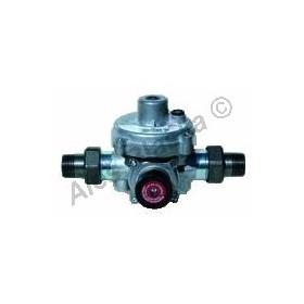 Dvoustupňový regulátor tlaku plynu KHS se šroubením (redukční ventil na plyn)