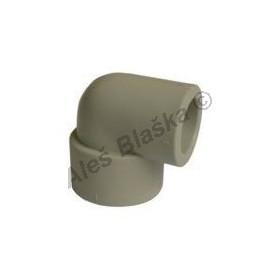 PPR koleno redukované F/F 90° tvarovka plastová navařovací