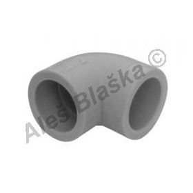 PPR koleno F/F 90° tvarovka plastová navařovací