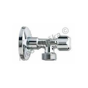 """vřetenový pračkový rohový ventil 1/2""""x3/4"""" (roháček,kohout k pračce, myčce)"""