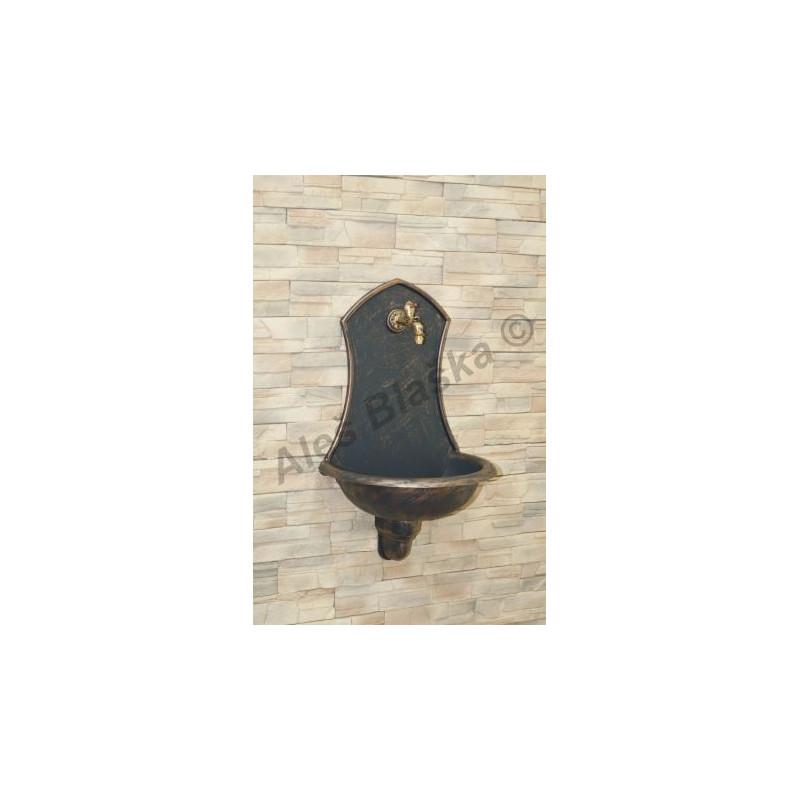 Designové ozdobné nástěnné umyvadlo SIENA (RETRO,dekorativní,ozdobné,okrasné)