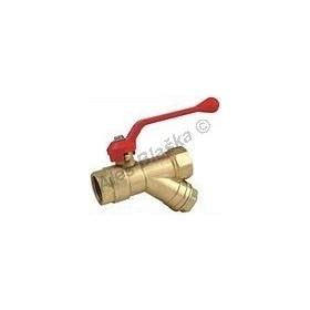 8206 Kulový kohout (ventil) s filtrem FF páka