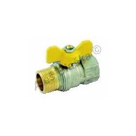 Kulový kohout (ventil) TORNADO na plyn s motýlem MF (plynový)