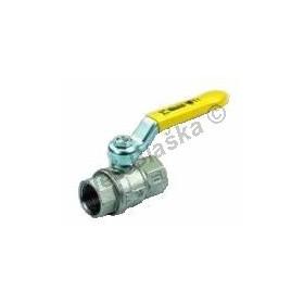 Kulový kohout (ventil) URAGANO na plyn s pákou FF plnoprůtokový (plynový)