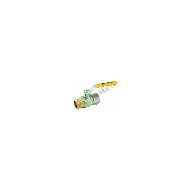 Kulový kohout (ventil) TORNADO na plyn s pákou MF (plynový)
