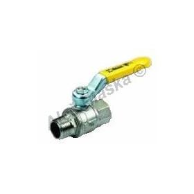Kulový kohout (ventil) URAGANO na plyn s pákou MF plnoprůtokový (plynový)