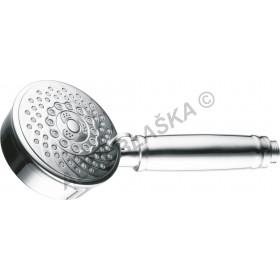 Masážní sprchová koncovka MOBI pětipolohová - sprcha , hlava , hlavice