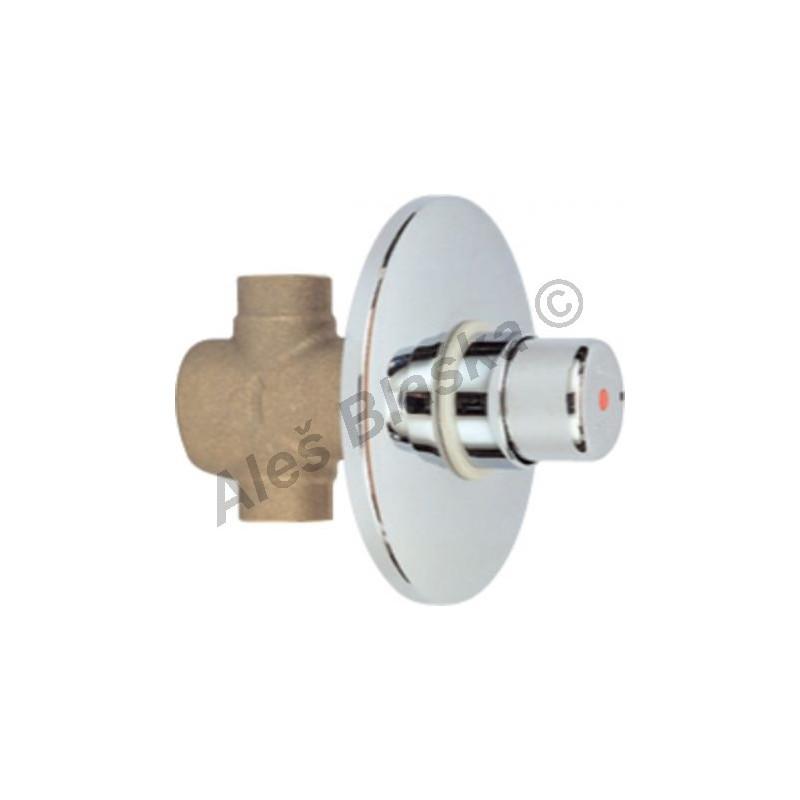 RIVER MAGIC R 7500 Sprchový tlačítkový časový výtokový ventil se spořičem průtoku