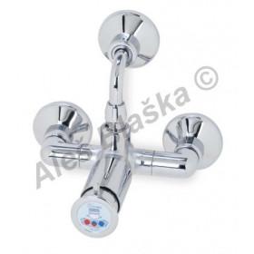 RIVER MINIMAGIC R 00745/2 Sprchový tlačítkový časový směšovací ventil