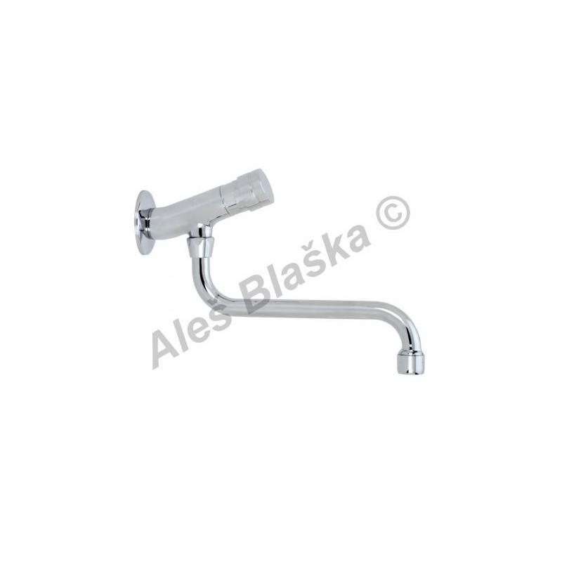 RIVER MINIMAGIC R 00703/2 Nástěnný tlačítkový časový výtokový ventil